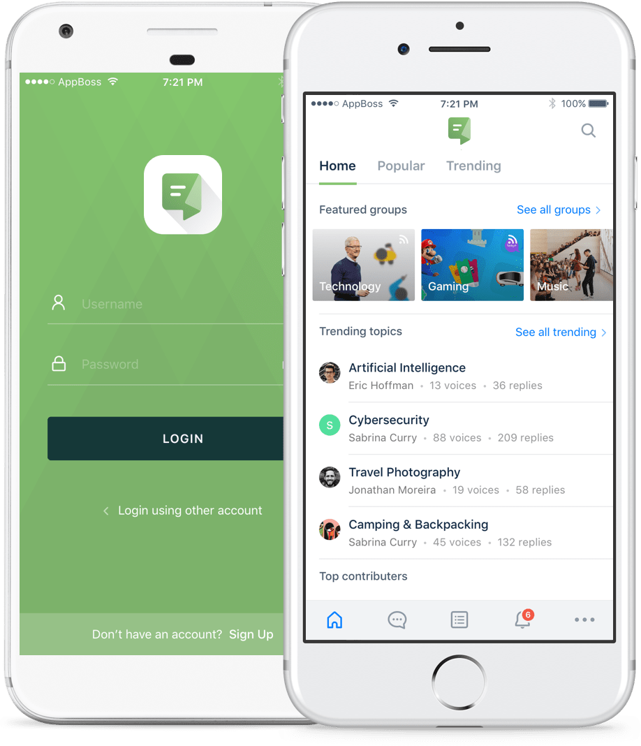 bbApp™ | A mobile app solution for your bbPress powered