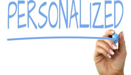 Personalization is a tool in the kit of great mLearning developers